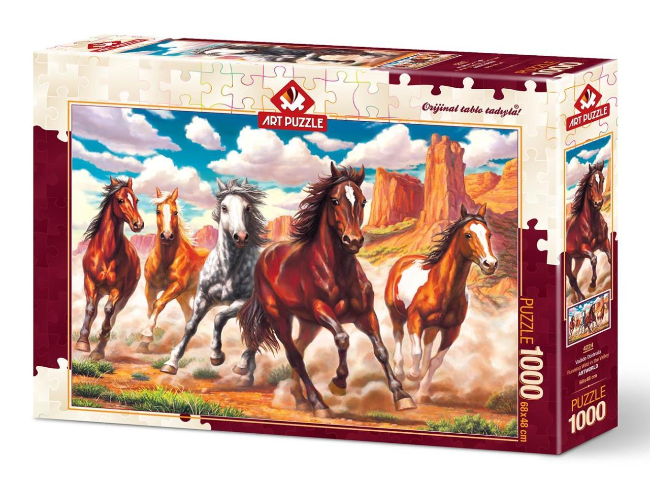 Running 1000 Valley In Art Wild Pièces Puzzle The 4224 FclK1J