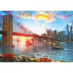 Puzzle   Sunset in New York