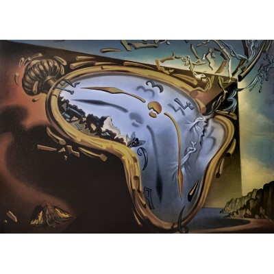 Puzzle Art-by-Bluebird-60104 Salvador Dalí - Soft Watch Exploding in 888 Particles after Twenty Years of Total Immobility, c. 195
