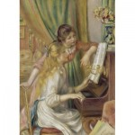 Puzzle  Art-by-Bluebird-60126 Auguste Renoir - Young Girls at the Piano, 1892
