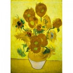 Puzzle  Art-by-Bluebird-Puzzle-60003 Vincent Van Gogh - Sunflowers, 1889