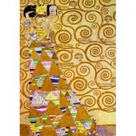 Puzzle  Art-by-Bluebird-Puzzle-60017 Gustave Klimt - The Waiting, 1905