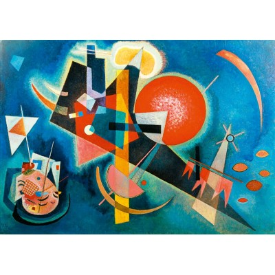 Puzzle Art-by-Bluebird-Puzzle-60021 Kandinsky - In Blue, 1925