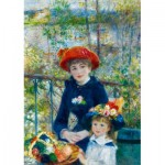 Puzzle  Art-by-Bluebird-Puzzle-60050 Renoir - Two Sisters (On the Terrace), 1881