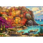 Puzzle  Bluebird-Puzzle-70055 A Beautiful Day at Cinque Terre