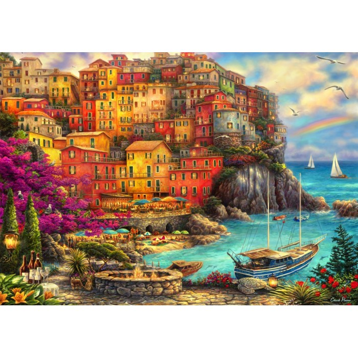 A Beautiful Day at Cinque Terre