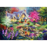 Puzzle  Bluebird-Puzzle-70060 Cottage Pond