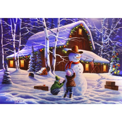 Puzzle Bluebird-Puzzle-70098 The Joy of Christmas
