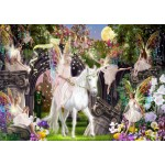 Puzzle  Bluebird-Puzzle-70114 Fairy Queen with Unicorn