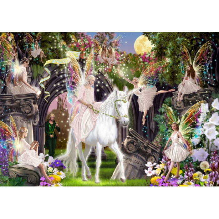 Fairy Queen with Unicorn
