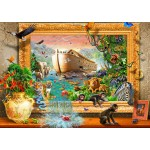 Puzzle  Bluebird-Puzzle-70140 Noah's Ark Framed
