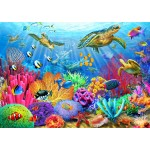Puzzle  Bluebird-Puzzle-70159 Turtle Coral Reef