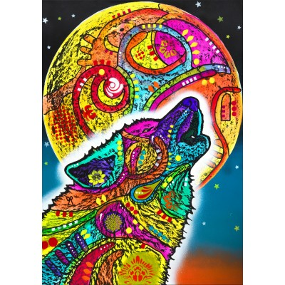 Puzzle Bluebird-Puzzle-70203 Howling Wolf