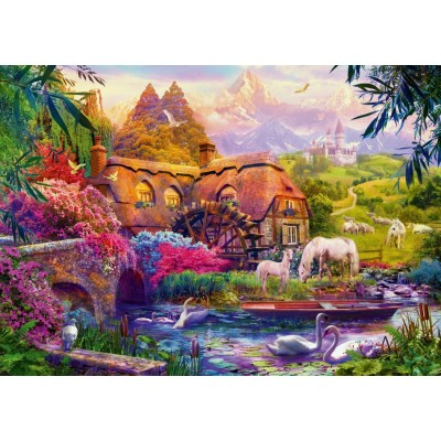 Puzzle Bluebird-Puzzle-70305-P Old Mill