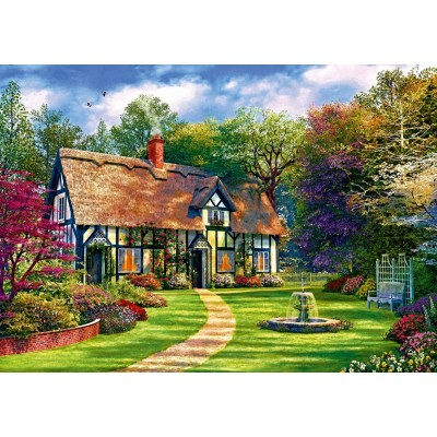 Puzzle Bluebird-Puzzle-70312-P The Hideaway Cottage