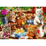 Puzzle  Bluebird-Puzzle-70400 Kittens in the Potting Shed