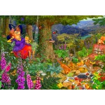 Puzzle  Bluebird-Puzzle-70418 The Witch Picnic