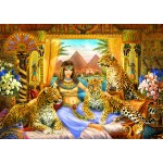 Puzzle   Egyptian Queen of the Leopards