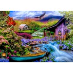 Puzzle   Heaven on Earth in the Mountains