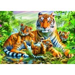 Puzzle   Tiger And Cubs