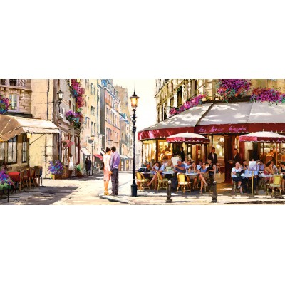 Puzzle Castorland-060085 Richard Macneil : Lovers in Paris