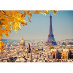 Puzzle  Castorland-103089 Autumn in Paris