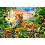 Puzzle  Castorland-103300 King of the Jungle