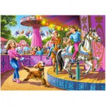 Puzzle  Castorland-13135 Spinning Carousels