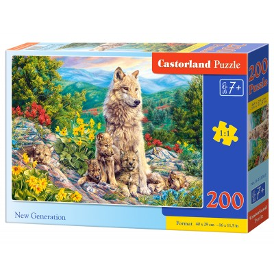 Puzzle Castorland-222087 New Generation
