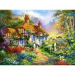 Puzzle  Castorland-300402 Forest Cottage