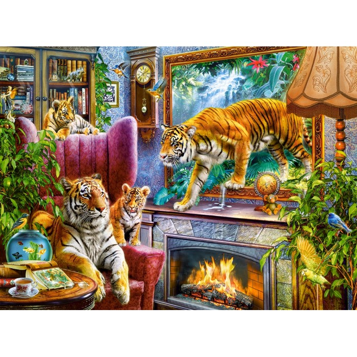 Tigers Coming to Life