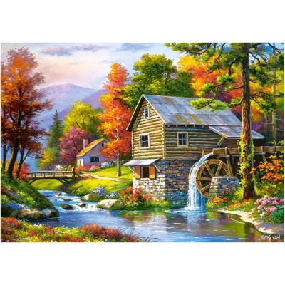 Puzzle Castorland-52691 Old Sutter's Mill