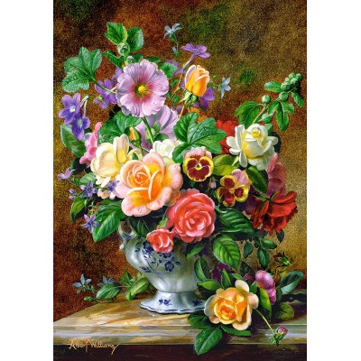 Puzzle Castorland-52868 Flowers in a Vase