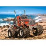 Puzzle   Monster Truck on the Rocky Coast