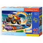 Puzzle   Pièces XXL - Jumping Monster Truck