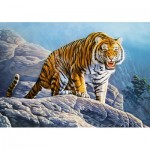 Puzzle   Tiger on the Rocks