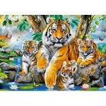 Puzzle   Tigers by the Steam