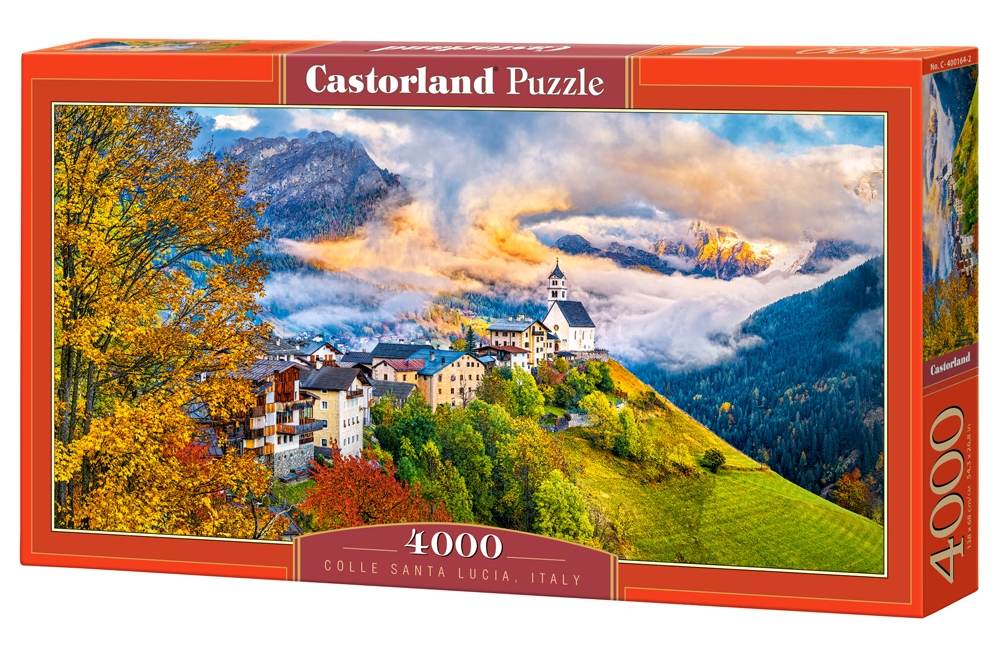 puzzle santa lucia italy castorland 400164 4000 pi ces puzzles montagnes planet 39 puzzles. Black Bedroom Furniture Sets. Home Design Ideas