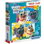2 Puzzles - Puppy Dog Pals