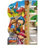 Clementoni-20307 Puzzle Double Fun - Mike Le Chevalier