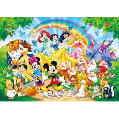 puzzle g ant de sol disney family clementoni 24473 24 pi ces puzzles autres disney planet. Black Bedroom Furniture Sets. Home Design Ideas