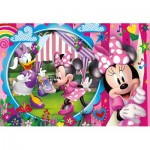 Puzzle  Clementoni-25462 Pièces XXL - Minnie Happy Helpers