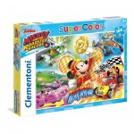 Puzzle  Clementoni-27085 Mickey and the Roadster Racers