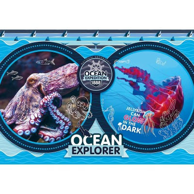 Puzzle Clementoni-29205 National Geo Kids - Ocean Expedition
