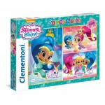 3 Puzzles - Shimmer & Shine