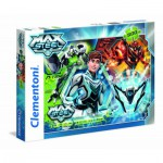 Puzzle  Clementoni-30442 Turbo Team-up Max Steel