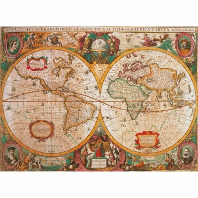 Puzzle Clementoni-31229 Carte antique