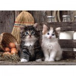 Puzzle  Clementoni-39340 Chatons