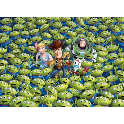 Clementoni-39499 Impossible Puzzle - Toy Story 4