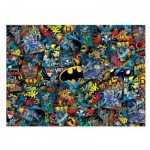 Clementoni-39575 Impossible Puzzle - Batman